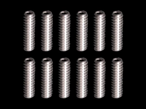 Calowe śrubki siodełek GRAPH-TECH 4/40 (1/2)