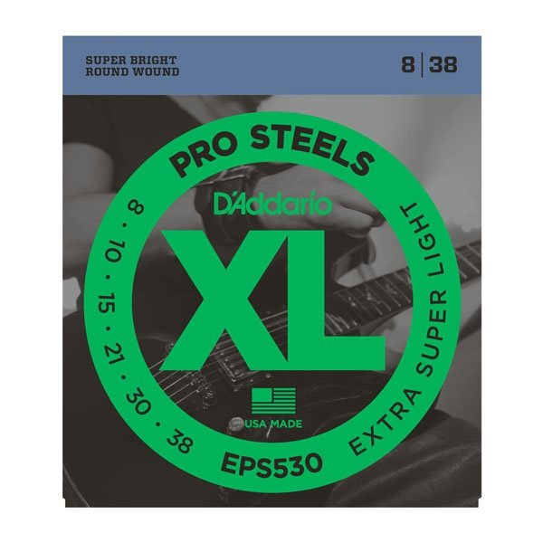 Struny D'ADDARIO XL ProSteels EPS530 (8-38)