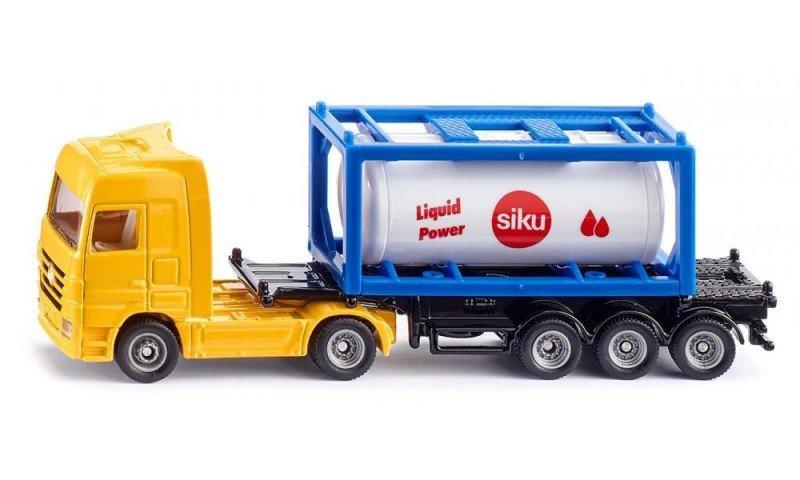 Ciężarówka z kontenerem