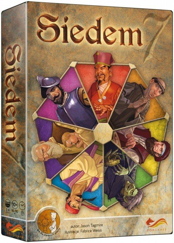 Foxgames Gra Siedem 7