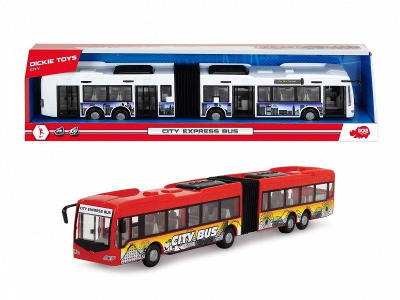 Dickie Pojazd Autobus City Express 46 cm