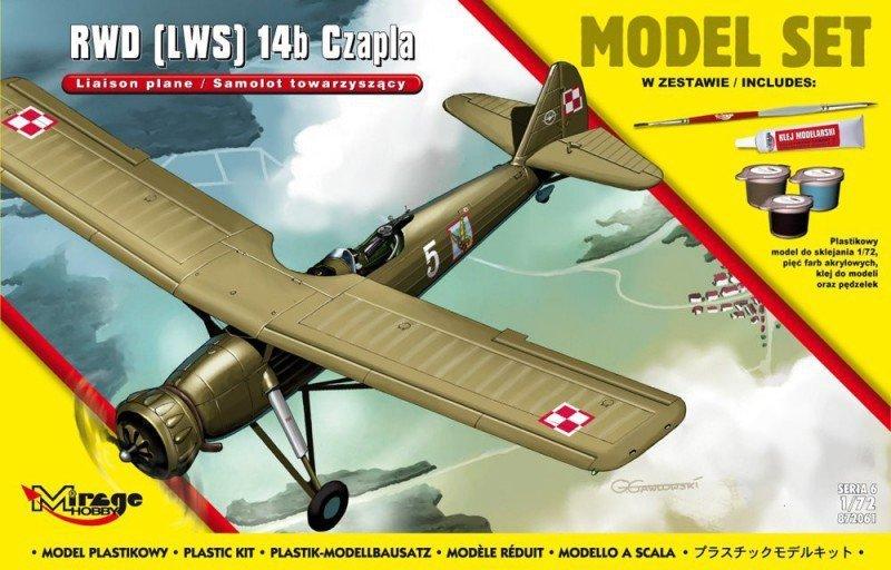 Mirage RWD 14b Czapla model set