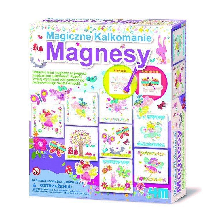 Magiczne Kalkomianie Magnesy