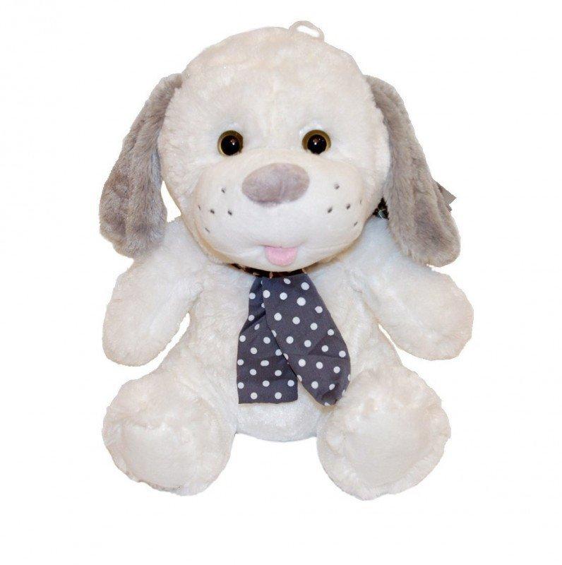 Axiom Maskotka Pies Kolekcja Silver biały 25 cm