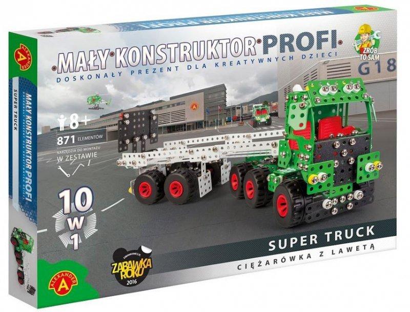 Alexander Mały Konstuktor 10w1 Super Truck