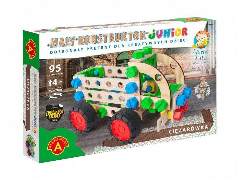 Alexander Zestaw konstrukcyjny Mały Konstruktor Junior 3w1 - Ciężarówka