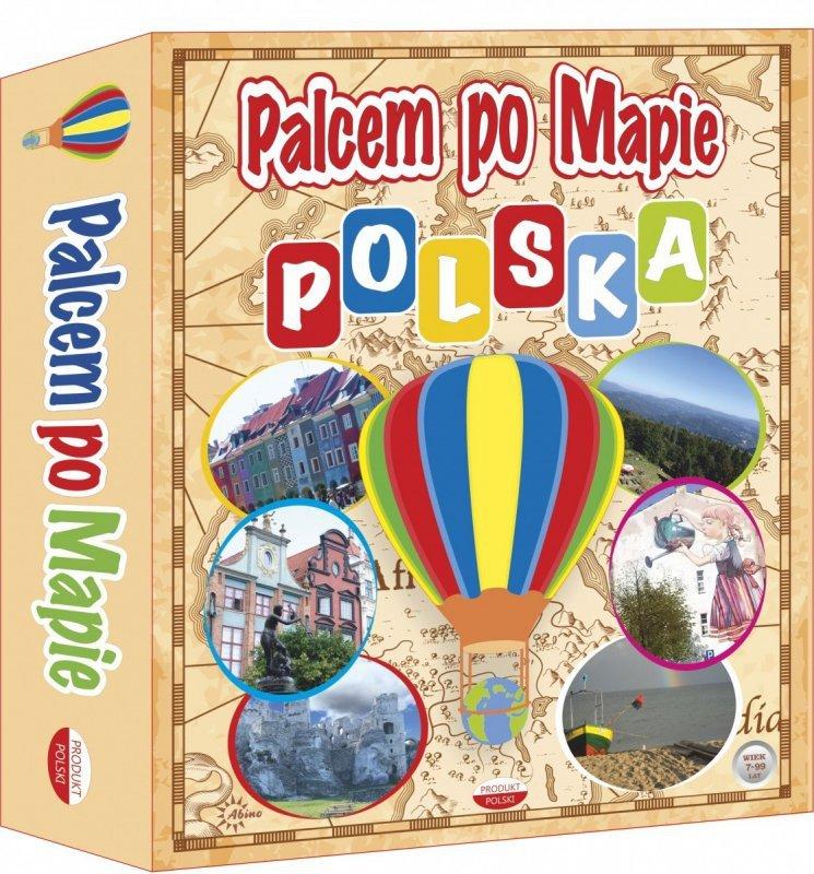 Gra Palcem po mapie - Polska