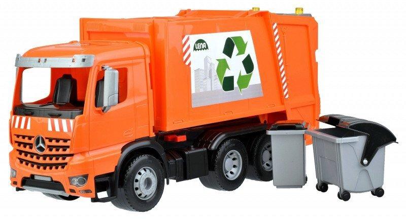 Lena Śmieciarka Mercedes Actros Worxx w pudełku
