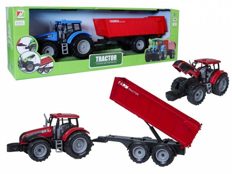ASKATO Traktor z przyczepą