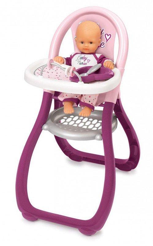 Smoby Krzesełko do karmienia Baby Nurse