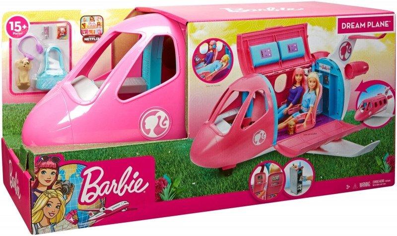 Mattel Samolot Barbie