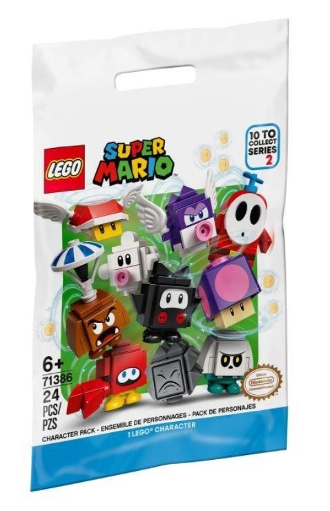 Klocki Super Mario  Zestawy postaci seria 2 71386