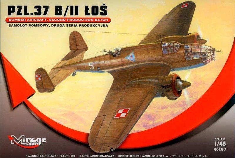 Mirage PZL.37 B/II Łoś Samolot Bombowy