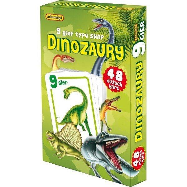 Gra Karty Snap - Dinozaury