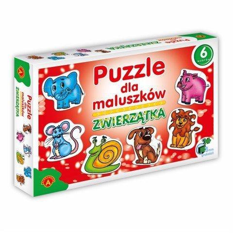 Alexander Puzzle dla Maluszków - Zwierzątka