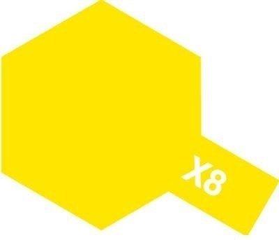 Tamiya Farba Acrylic Mini X-8 Lemon Yellow