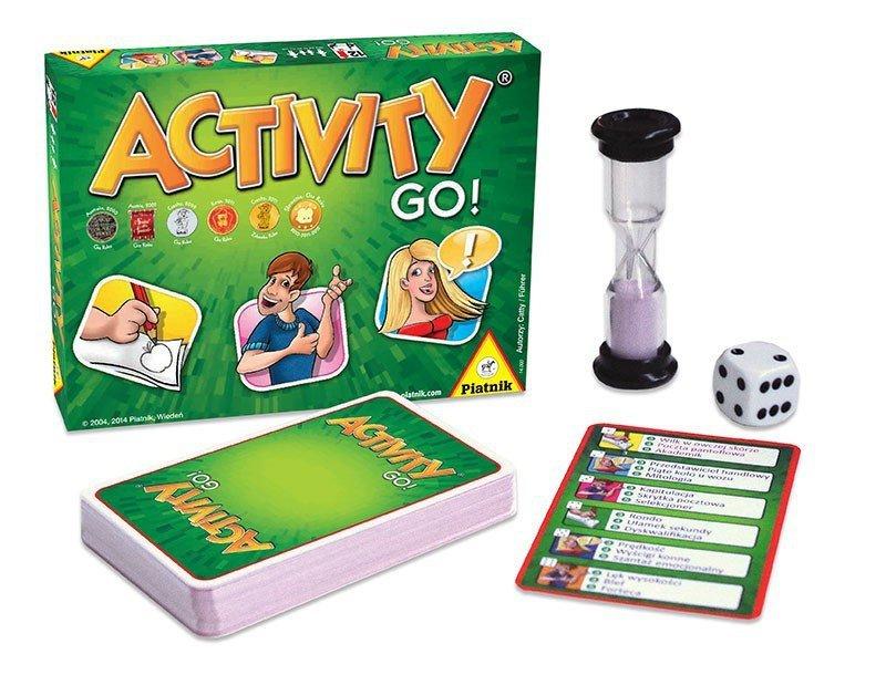 Piatnik Gra  Activity Go!