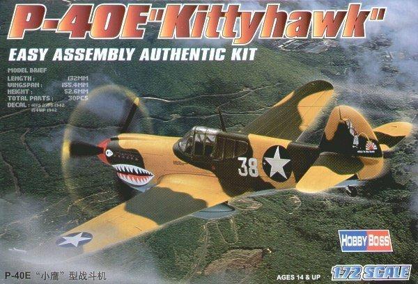 Hobby Boss HOBBY BOSS P-40E Kittyha wk