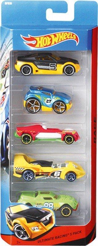 Hot Wheels Samochodziki 5 sztuk
