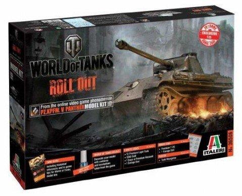Italeri Panther Ausf.G (World of Tanks)