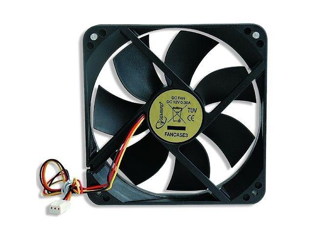 Wentylator 120x120x25mm 3-pin obudowa/zasilacz