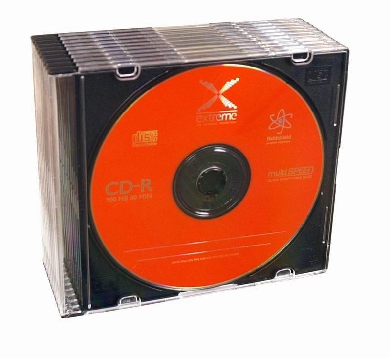 CD-R 700MB x52 - Slim 10