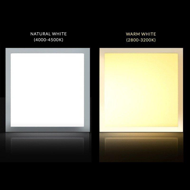 Panel LED sufitowy slim 40W Warm white 2800-3200K Led4U LD150W 60x60mm raster