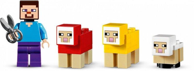 Klocki Minecraft Hodowla owiec