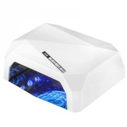 LAMPA DIAMOND 2w1 UV LED+CCFL  36W TIMER + SENSOR WHITE