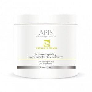 APIS Fresh Lime terApis limonkowy peeling do stóp 500g