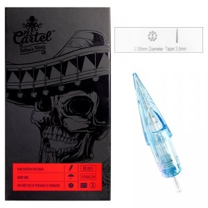 Igły Kartridże El Cartel 0.35mm 11RS Shader 10 szt.