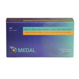 Torebki do sterylizacji MEDAL 90 x 135 mm 200szt