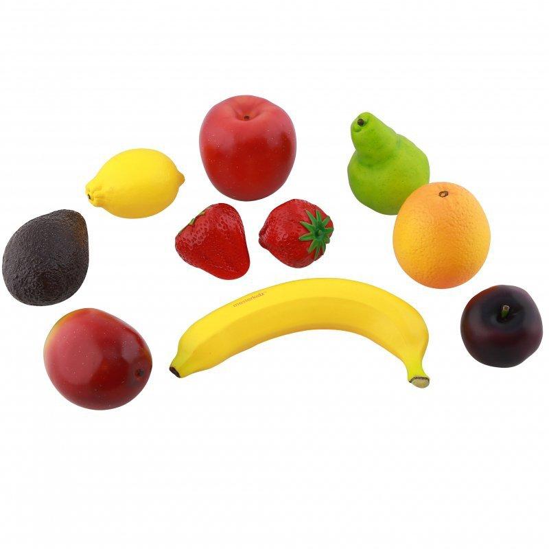 Realistyczne Owoce Zestaw Do Kuchni 10 Elementów Masterkidz