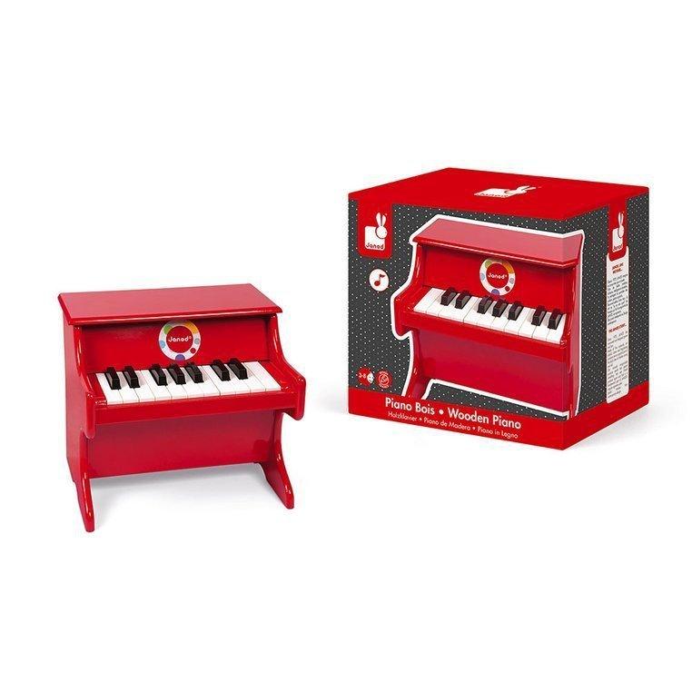 czerwone pianino www.tuliki.pl