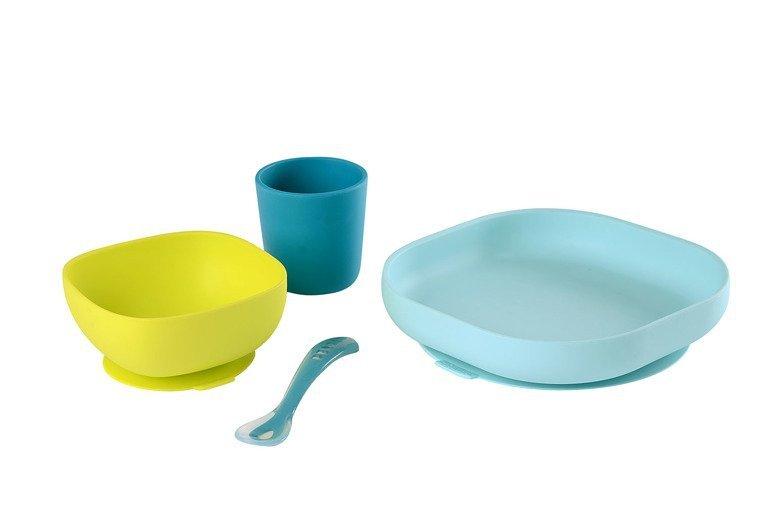 naczynia z sylikonu niebieskie www.tuliki.pl