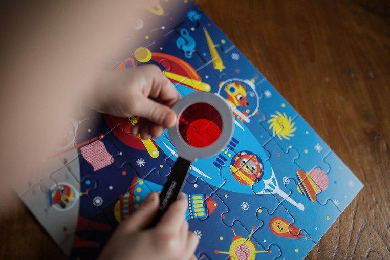 Mudpuppy Puzzle z ukrytymi obrazkami Kosmos 42 elementy 3+