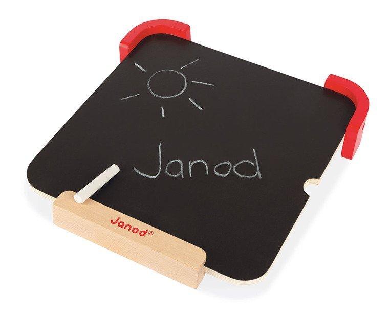 Układanka drewniana magnetyczna z tablicą Uczę się kolorów, Janod www.tuliki.pl