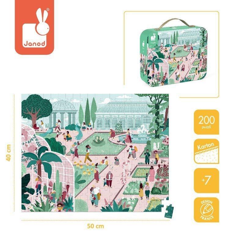 puzzle ogród www.tuliki.pl