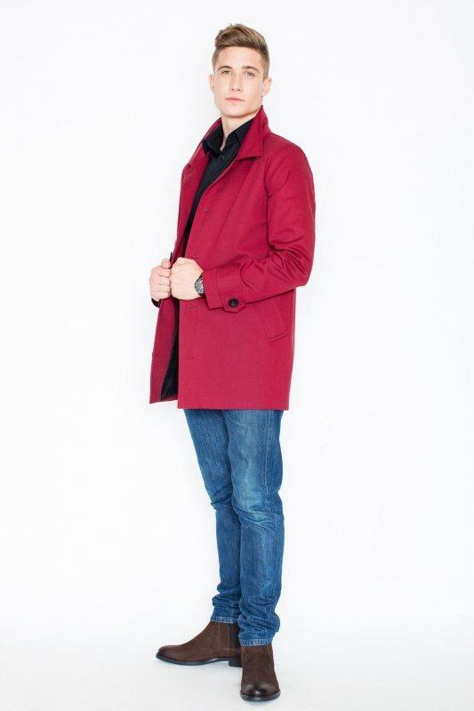Płaszcz V028 Bordo M