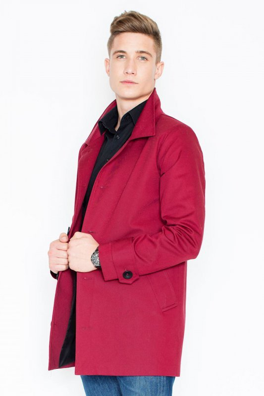 Płaszcz V028 Bordo S