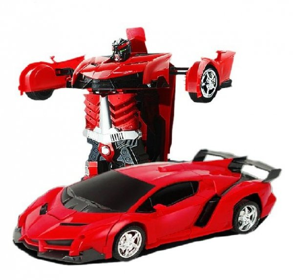 Samochód RC Autobot Transformacja 2w1 1:20 czerwon