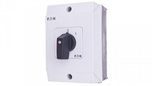 Łącznik krzywkowy 0-1 3P 20A w obudowie T0-2-15403/I1 207088