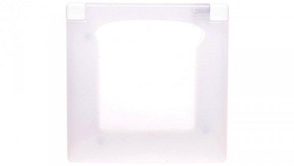 NILOE Ramka pojedyncza biały tworzywo IP44  665000
