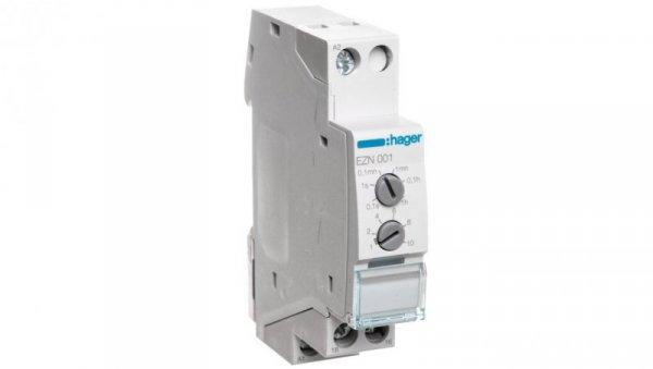 Przekaźnik czasowy opóznione załączenie 12-230V AC/12-48V DC 1P 8A EZN001