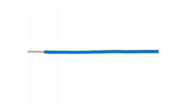 Przewód instalacyjny H07V-U (DY) 1,5 niebieski /100m/
