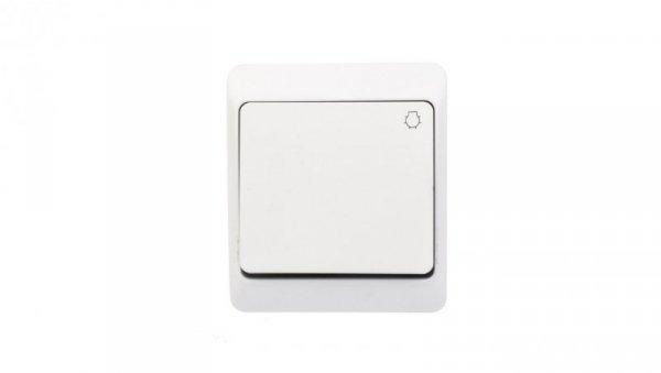 Hermes Przycisk /światło/ biały IP44 0336-02
