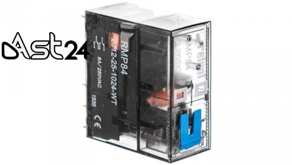 Przekaźnik mocy miniaturowy 2P 8A 24V DC PCB RMP84-2012-25-1024-WT 2615197