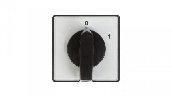 Łącznik krzywkowy 0-1 3P 10A do wbudowania 4G10-10-U 63-840304-011