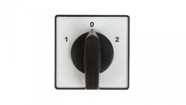 Łącznik krzywkowy 1-0-2 2P 10A do wbudowania 4G10-52-U 63-840341-011