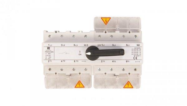 Przełącznik sieć-agregat 125A 3P+N (biegun N nierozłączalny) PRZK-3125NW02